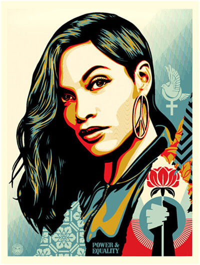 Shepard Fairey, 'Power & Equality: Flower', 2019