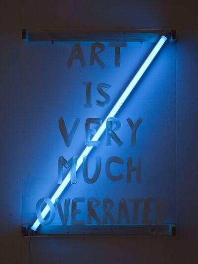 Tizian Baldinger, 'Art Is Very Much Overrated', 2014