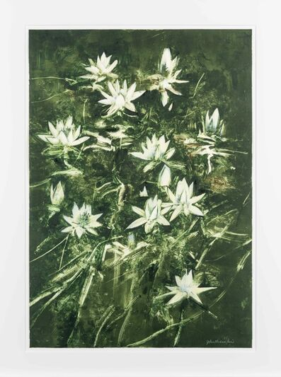 John Alexander, 'Lilies with Hint of Blue', 2012