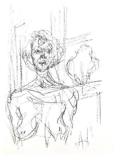"""Alberto Giacometti, 'Original Lithograph """"Composition"""" by Alberto Giacometti', 1964"""