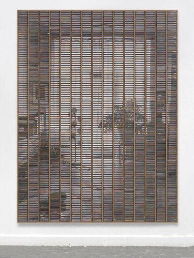 """Gregor Hildebrandt, '""""Wohnzimmer Blick zum Balkon""""', 2019"""