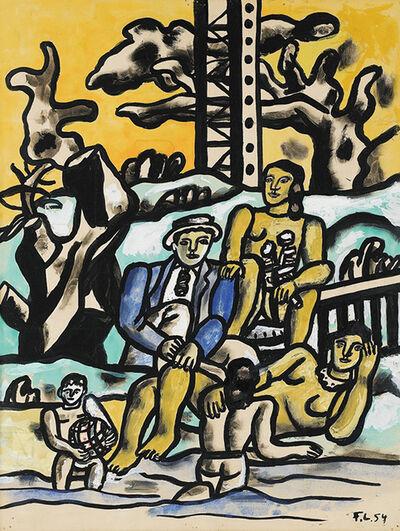 """Fernand Léger, 'Etude pour """"La Partie de Campagne""""', 1954"""