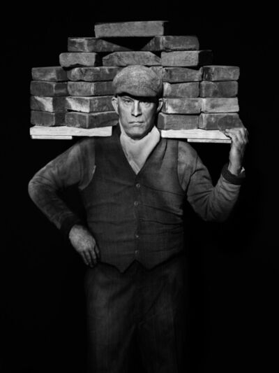 Sandro Miller, 'August Sander - Bricklayer (1928)', 2017