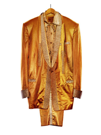 Albert Watson, 'Elvis Presley's Gold Lame Suit, Graceland,'