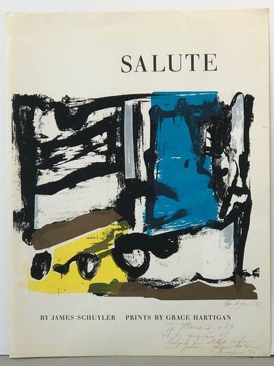 Grace Hartigan, 'Salute 1', 1961
