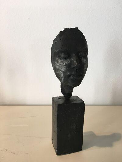Beatrice Bizot, 'Visage noir larmes', 2017