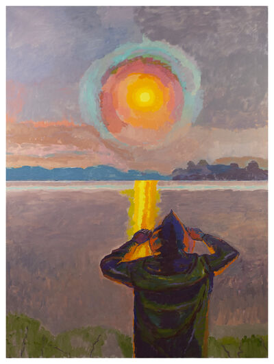 Graham Nickson, 'Yellow Rise: Sun Watcher', 2017