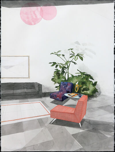 Erik Parra, 'Living Room With Cosmic Seating Options', 2016