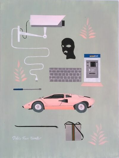 Keith Garcia, 'The Sweetness of Doing Nothing', 2018