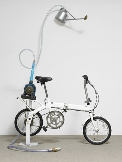 Rirkrit Tiravanija, 'Untitled (bicycle shower)', 2010