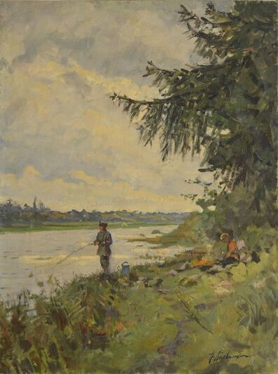 Petr Petrovich Litvinsky, 'Fishermen', 1961