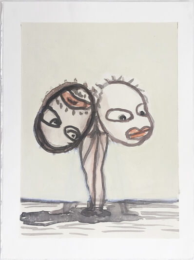 Ansel Krut, 'Double Head', 2004