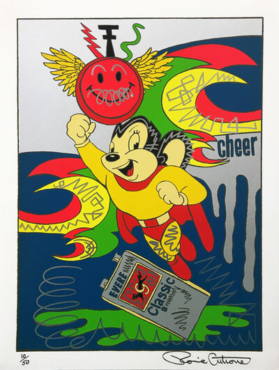 Ronnie Cutrone, 'Mighty Mouse (Embellished)', 1989