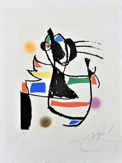 Joan Miró, 'Le marteau sans maître ', 1974
