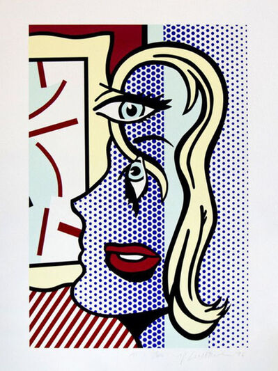 Roy Lichtenstein, 'ART CRITIC', 1996