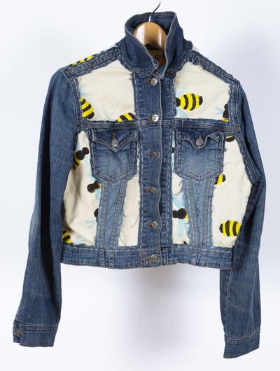 Yukari Sakura, 'Untitled (Bees on Jean Jacket)', 2018