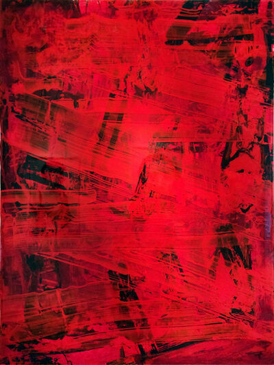 Jorge Enrique, 'All to All (Red #2)', 2018