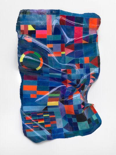Daniel Knorr, 'Canvas Sculptures (Blue Chateau)', 2020