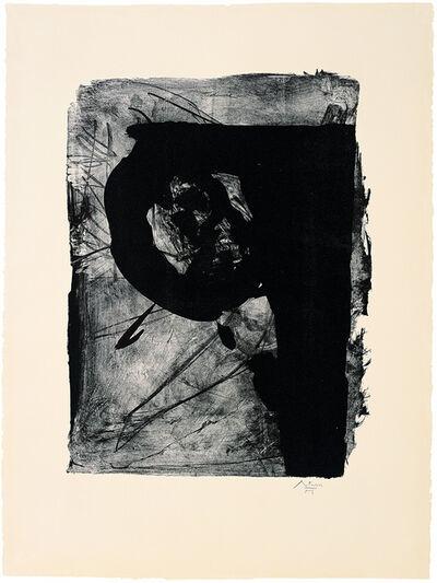 Robert Motherwell, 'Poet 1', 1962