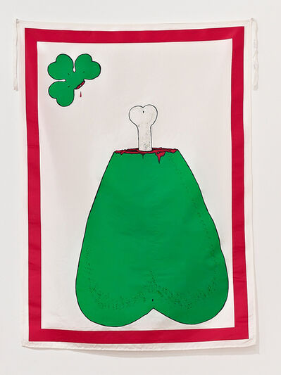 Mike Kelley, 'Unlucky Clover', 1989