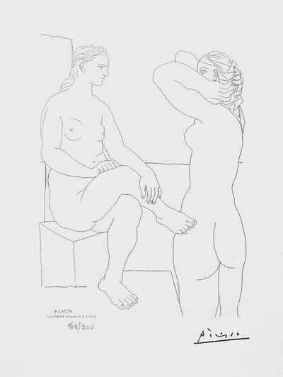 Pablo Picasso, 'Two Nudes', 1990