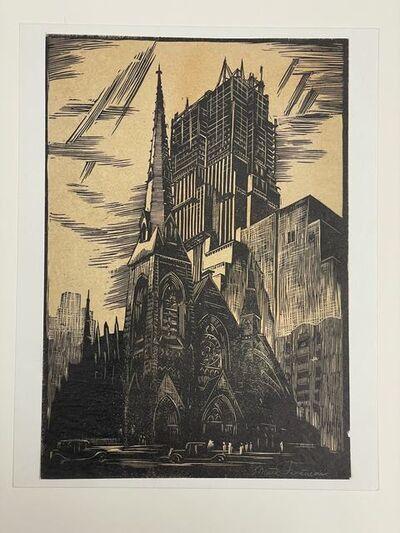 Mark Freeman, 'Radio City Construction', ca. 1933