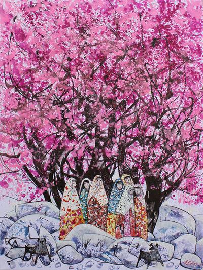 Farrukh Negmatzade, 'Almond blooming', 2017