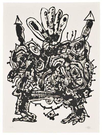 Antonio Saura, 'Novisaurias', 1969