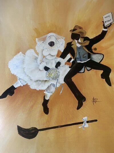 Annie Frances Lee, 'Jumping the Broom', 1993