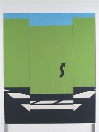 Allan D'Arcangelo, 'American Landscape I', 1965