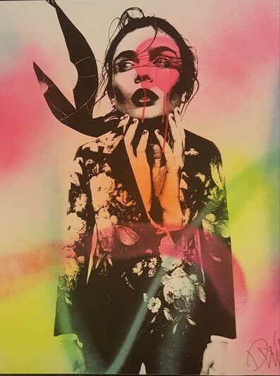 DAIN, 'Dain: Well Suited Hand Painted Screenprint', 2016