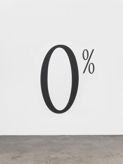 Haim Steinbach, '0%', 1997