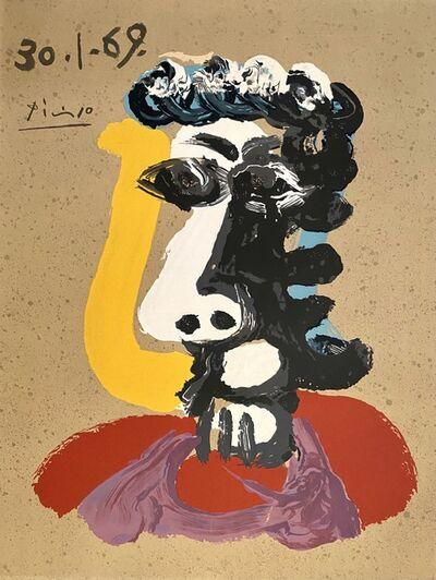 Pablo Picasso, 'Portrait Imaginaires 30.1.69', 1970