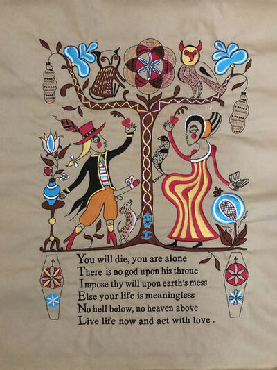 Grayson Perry, ' Recipe for Humanity', 2005