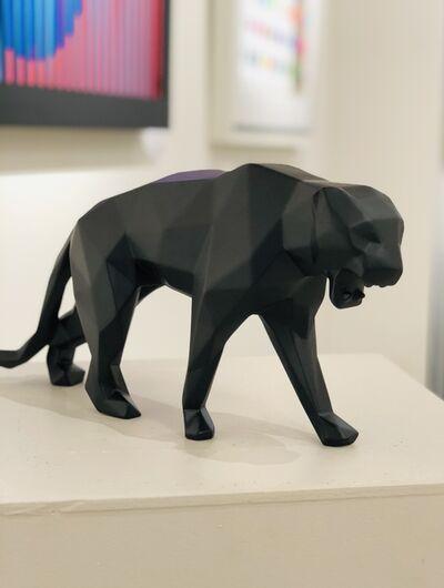 Richard Orlinski, 'Panther black matte', 2021
