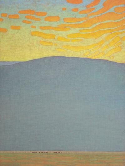 David Grossmann, 'Bright Clouds Over Mountain Pasture,', 2020