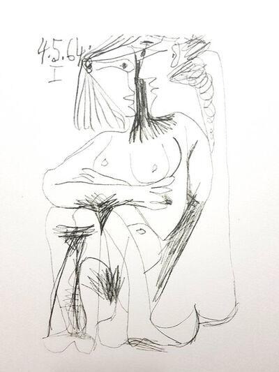 """Pablo Picasso, 'Lithograph """"Le Goût de Bonheur"""" after Pablo Picasso', 1970"""