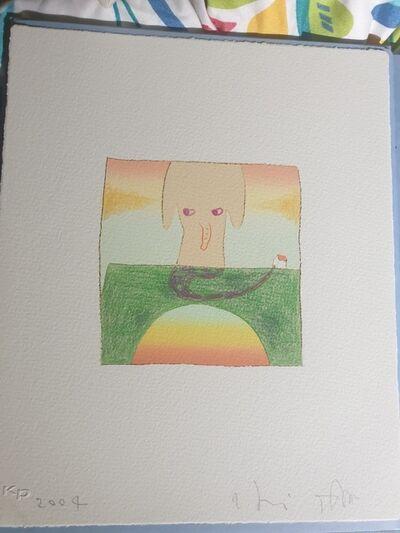 Yoshitomo Nara, 'Over the Rainbow (Elephant)', 2004