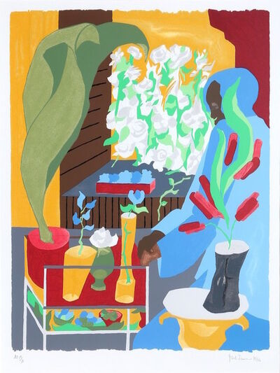 Jacob Lawrence, 'Supermarket Flora', 1996