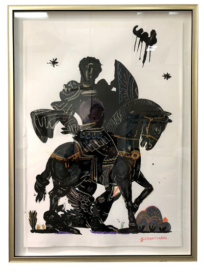 Apostolos Chantzaras, 'Noble Rider', 2016