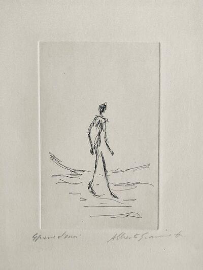 Alberto Giacometti, 'L' Homme Qui Marche', 1964