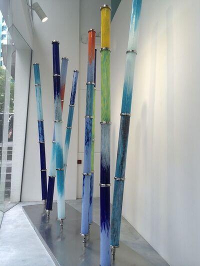 Shan Shan Sheng, 'Bamboo Ever-Rising'