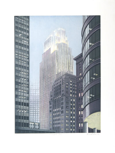 Richard Haas, 'Minneapolis Dusk', 1993