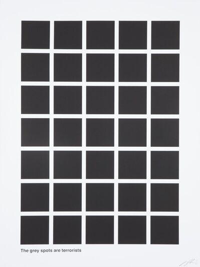 Jason Shulman, 'The Grey Spots are Terrorists', 2014