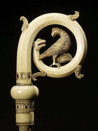 'Crozier Head with the Eagle of Saint John', 13th century