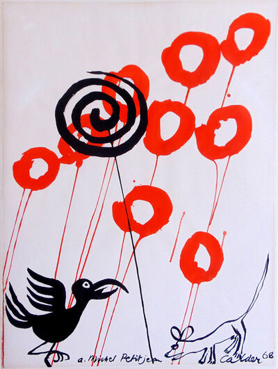Alexander Calder, 'The Crow and the Fox | Le Courbeau et la Renard', 1968