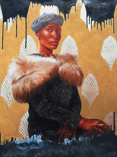 Ajamu Kojo, 'Black Blood, No. 8: In the spirit of Mrs. G.W. Hunt, Beauty Parlor Proprietor', 2018