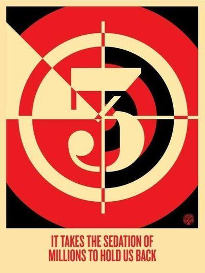 Shepard Fairey, 'Sedation of Millions', 2012