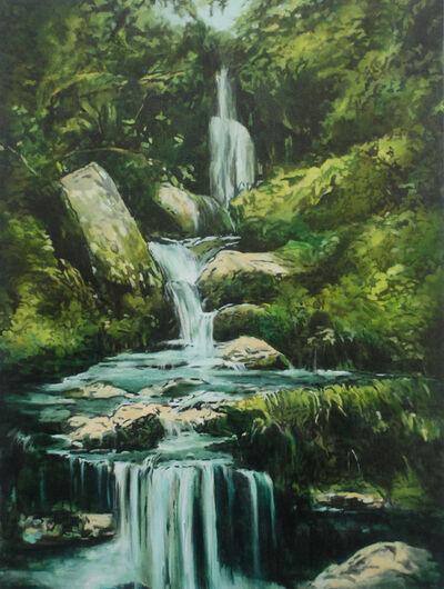 Annette Pugh, 'Moorland Waterfall ', 2019