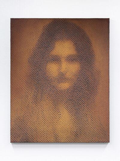 "Tomohiro Kato, 'iron-oxide painting ""C.G./D****78""', 2020"